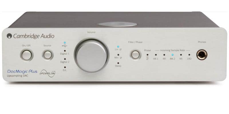 Cambridge Audio DacMagic Plus Argent