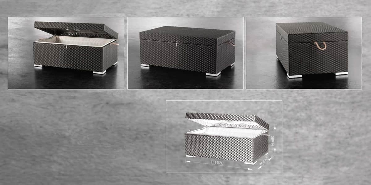 Coti Design Coffre Adora D Coration Ext Rieure Sur