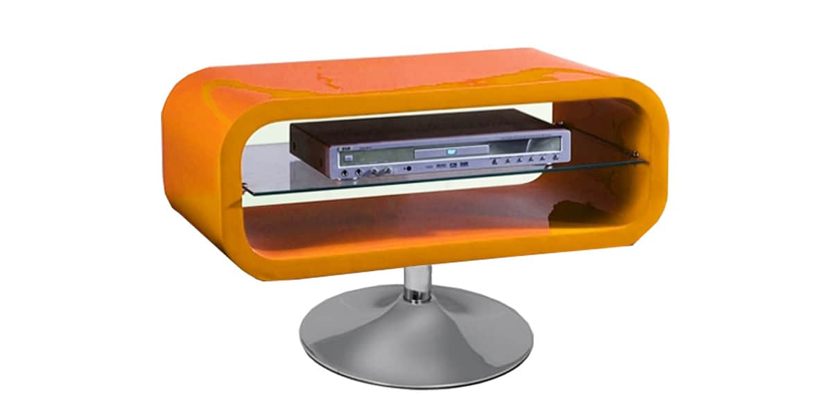 Coti design disco orange meubles tv divers sur easylounge for Meuble orange