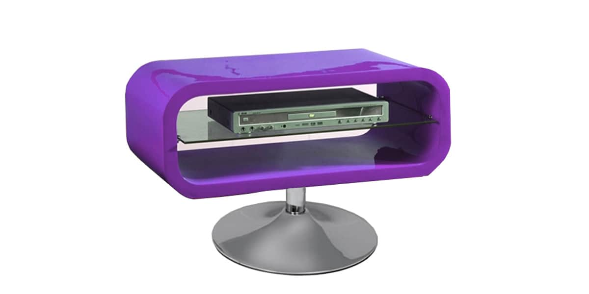 Coti design disco violet meubles tv divers sur easylounge - Meuble tv violet ...