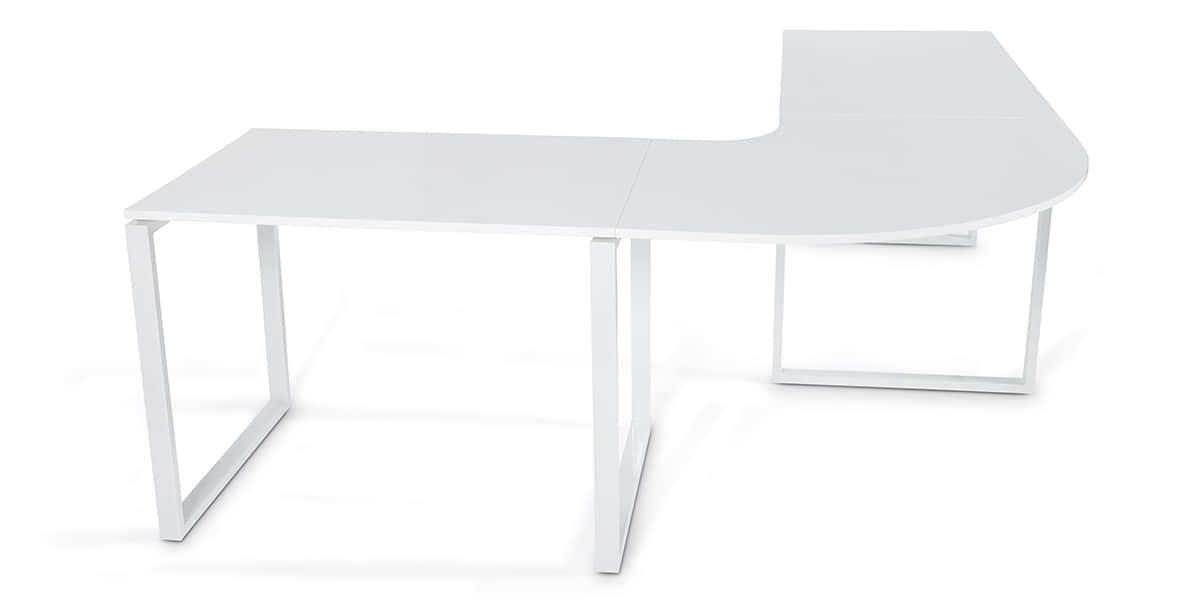 Bureau blanc simple les 25 meilleures id es de la cat for Bureau blanc simple
