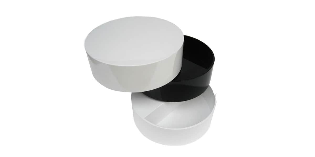 coti design zebra noir blanc tables basses sur easylounge. Black Bedroom Furniture Sets. Home Design Ideas