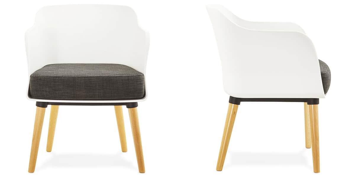 Coti design mysik blanc toutes les chaises sur easylounge for Toutes les chaises