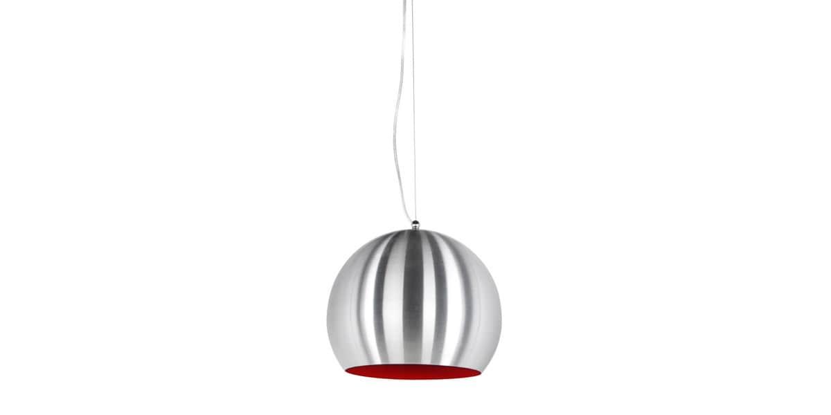 coti design arkia chrom rouge suspensions luminaires sur easylounge. Black Bedroom Furniture Sets. Home Design Ideas