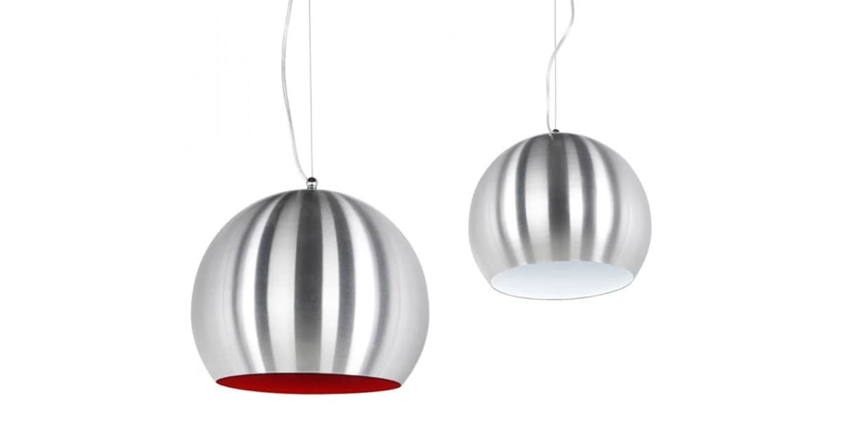 coti design arkia chrom rouge suspensions luminaires sur easylounge. Black Bedroom Furniture Sets. Home Design Ideas