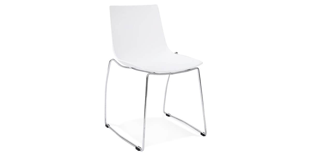 Coti design tikada blanc toutes les chaises sur easylounge for Toutes les chaises