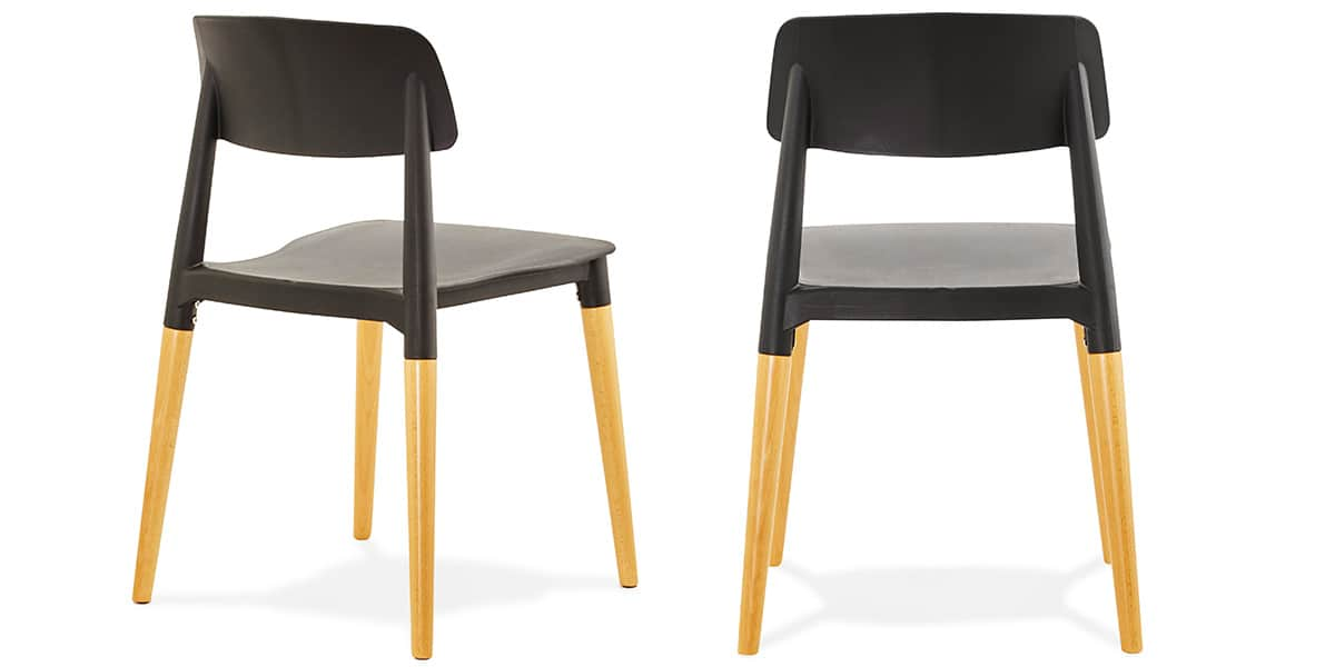 Coti design gorgeous noir toutes les chaises sur easylounge for Toutes les chaises