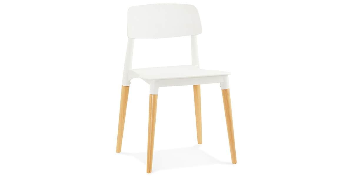 Coti design gorgeous blanc toutes les chaises sur easylounge for Toutes les chaises