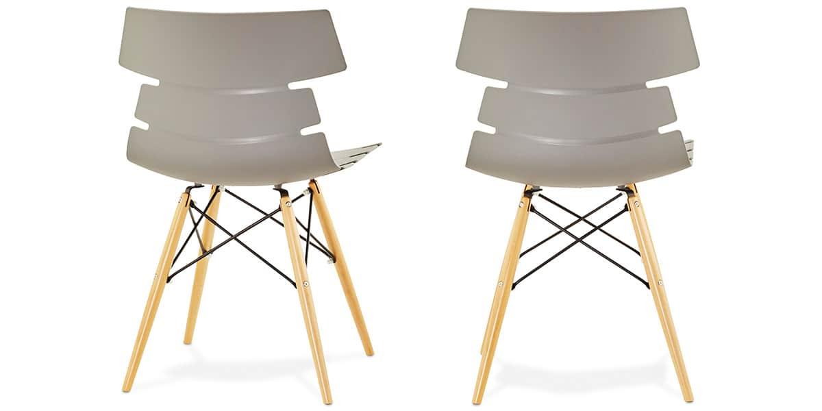 Coti design strata gris toutes les chaises sur easylounge for Toutes les chaises
