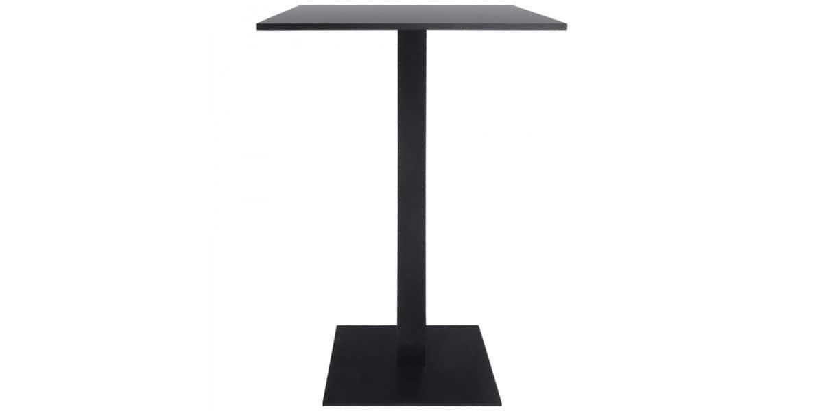 coti design denpa noir 110 cm pieds de table sur easylounge. Black Bedroom Furniture Sets. Home Design Ideas