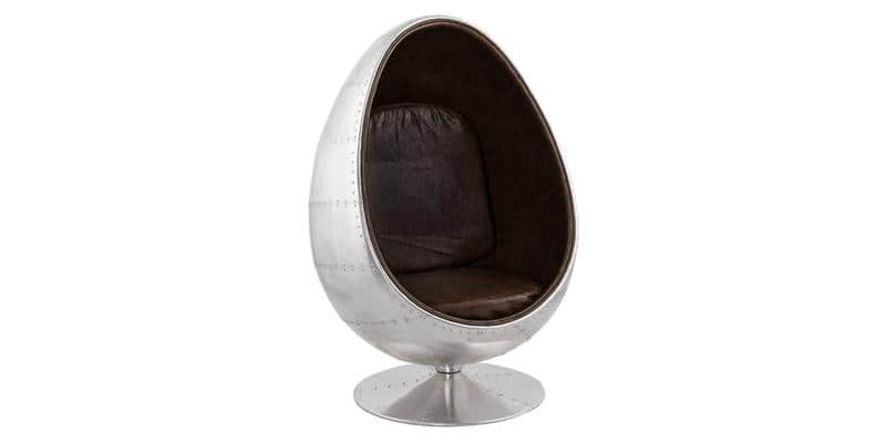 Coti Design Egg Gris et Marron