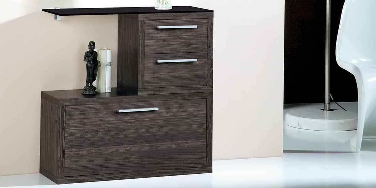 coti design monterrey gris meubles d 39 entr e sur easylounge. Black Bedroom Furniture Sets. Home Design Ideas