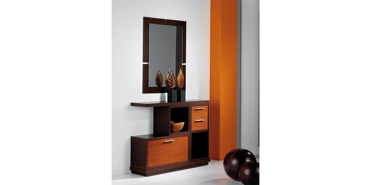 coti design salta cerisier et weng meubles d 39 entr e sur easylounge. Black Bedroom Furniture Sets. Home Design Ideas