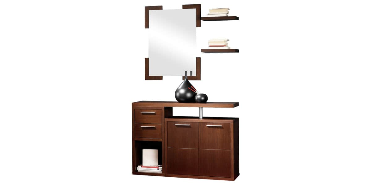 coti design tandil noyer meubles d 39 entr e sur easylounge. Black Bedroom Furniture Sets. Home Design Ideas