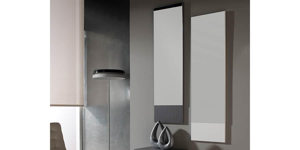 coti design arona gris et blanc meubles d 39 entr e sur easylounge. Black Bedroom Furniture Sets. Home Design Ideas