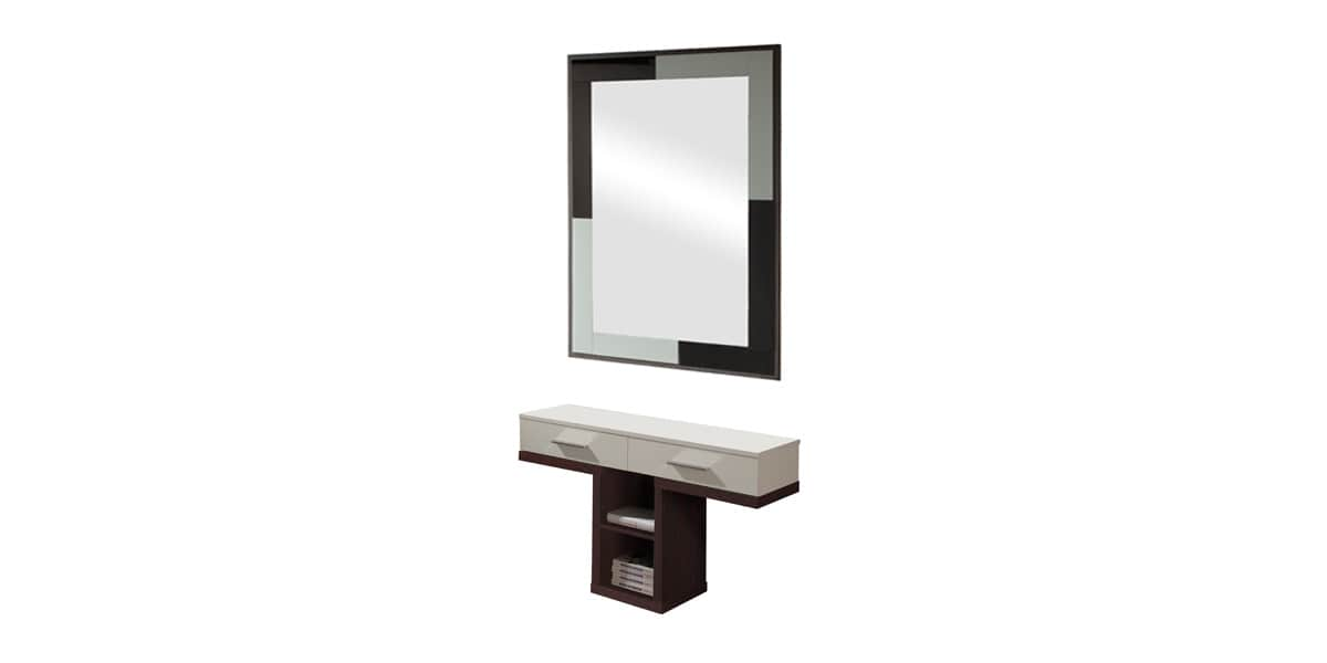 coti design paterna weng et blanc meubles d 39 entr e sur easylounge. Black Bedroom Furniture Sets. Home Design Ideas