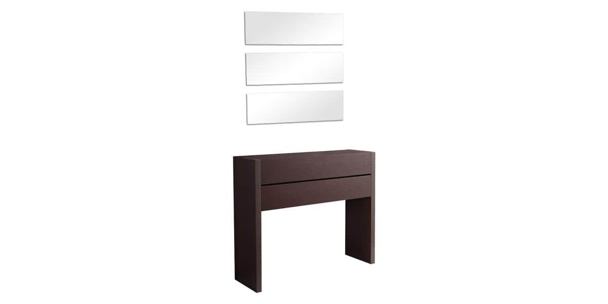 Coti design sagonte weng meubles d 39 entr e sur easylounge - Meuble d entree wenge ...