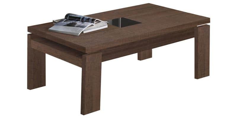 coti design gemma l marron tables basses sur easylounge. Black Bedroom Furniture Sets. Home Design Ideas