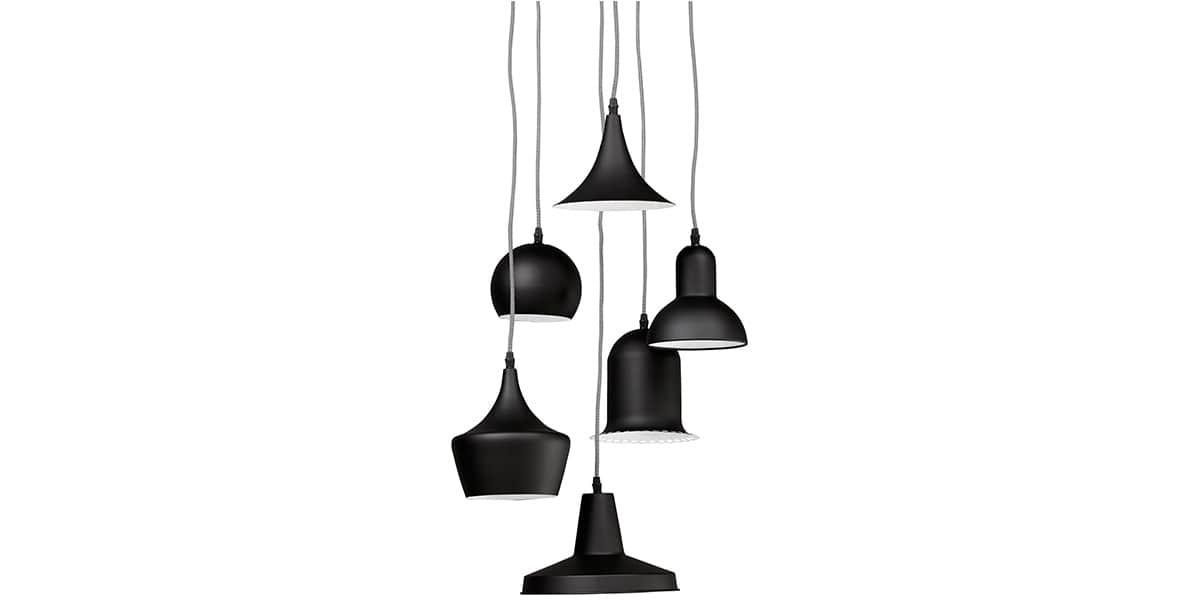 coti design pengan noir suspensions luminaires sur easylounge. Black Bedroom Furniture Sets. Home Design Ideas
