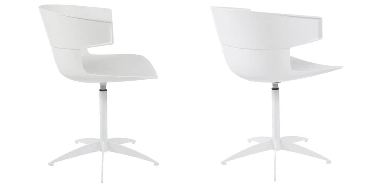 Coti design kentucky bland toutes les chaises sur easylounge for Toutes les chaises