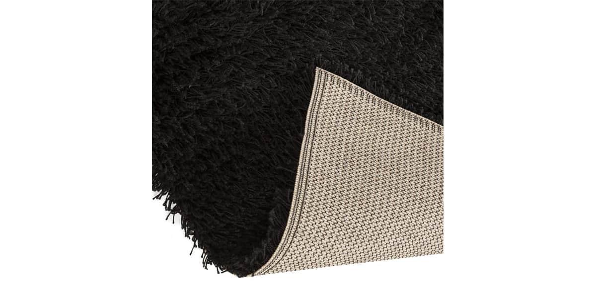 Coti design umea noir tapis de salon sur easylounge - Tapis de salon noir ...
