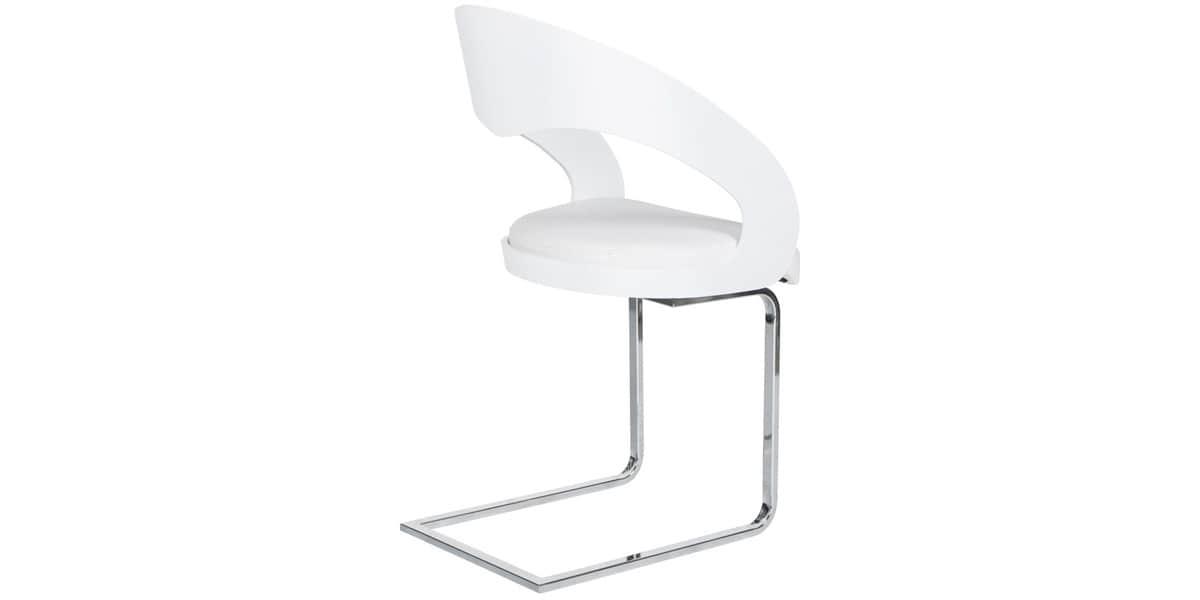 Coti design missouri blanc toutes les chaises sur easylounge for Toutes les chaises