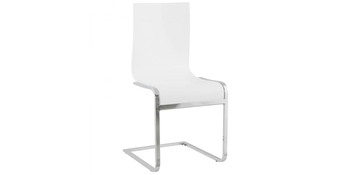Coti design nevada blanc toutes les chaises sur easylounge for Toutes les chaises