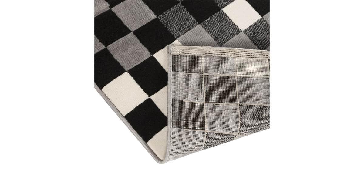 Coti Design Kube Noir Et Blanc Tapis De Salon Sur Easylounge