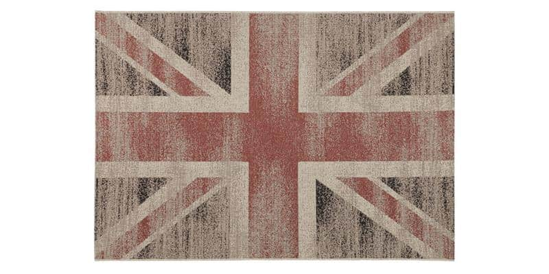 Coti Design Vintage British M Beige et Rouge