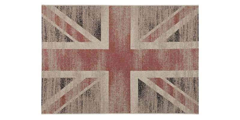 Coti Design Vintage British L Beige et Rouge