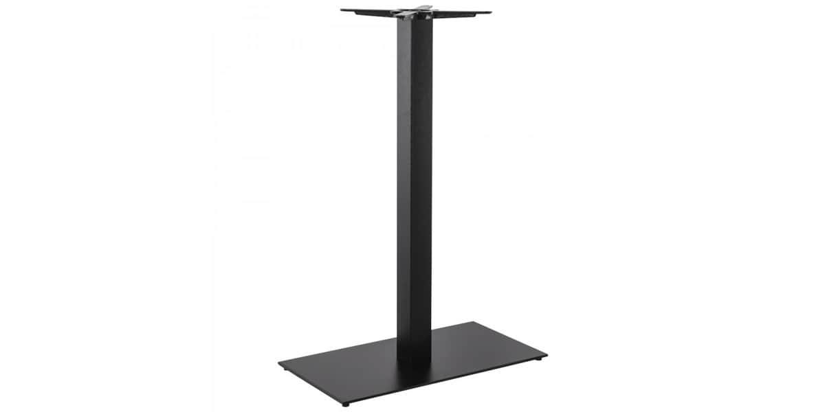 Coti design taya 110 acier noir pieds de table sur easylounge - Pied de table 110 cm ...