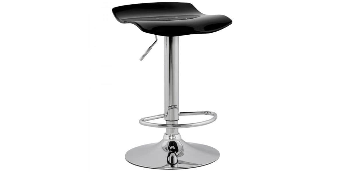 coti design zurich noir tabourets de bar sur easylounge. Black Bedroom Furniture Sets. Home Design Ideas