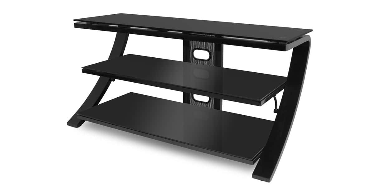 de conti sette noir meubles tv de conti sur easylounge. Black Bedroom Furniture Sets. Home Design Ideas