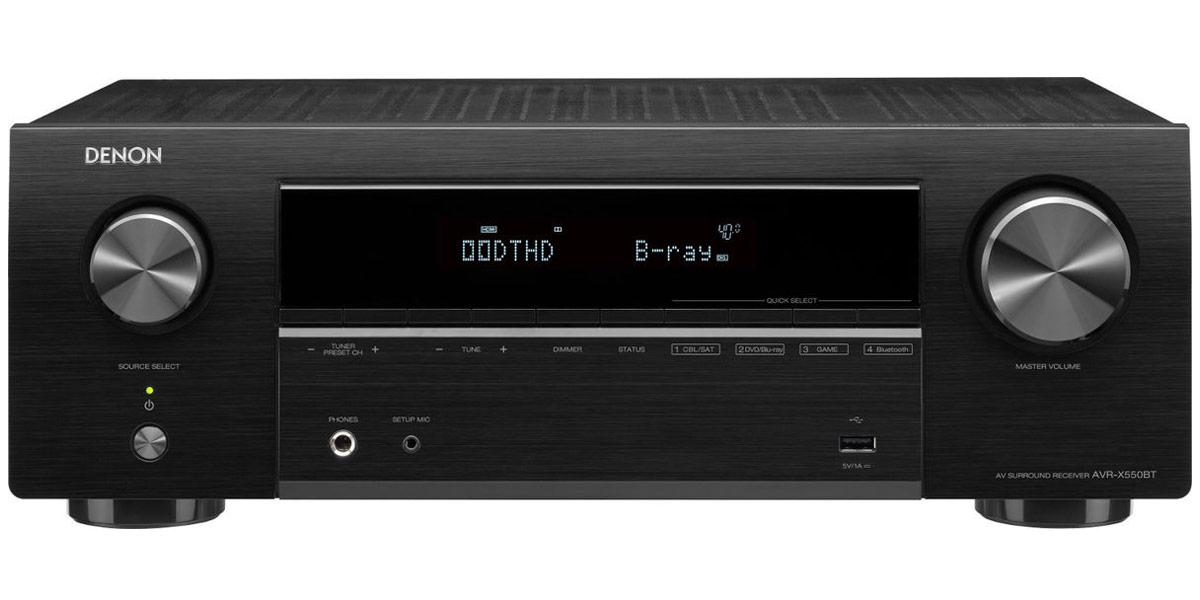Denon AVR-X550BT Noir