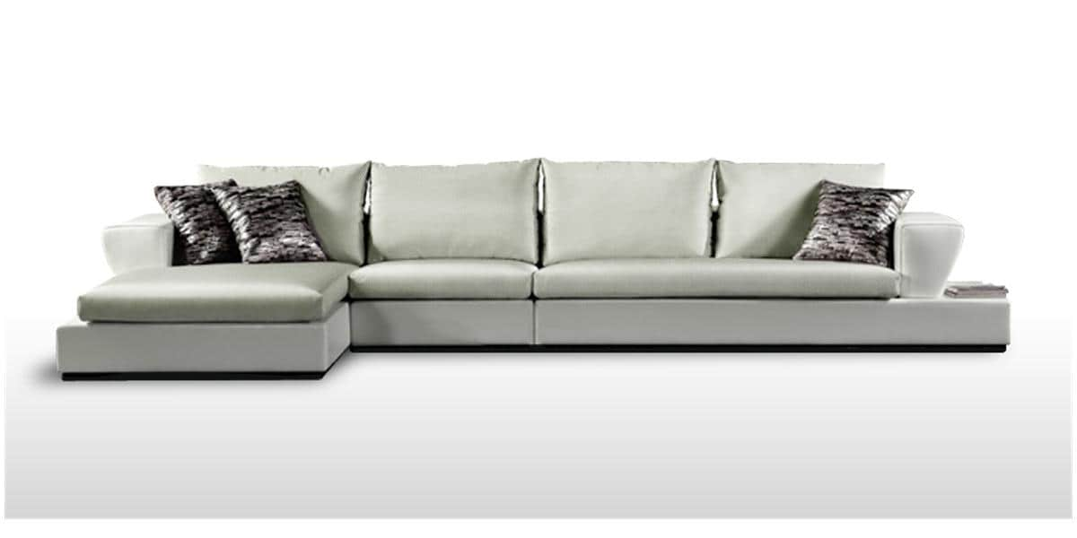 Easylounge canap divino gris tous les canap s sur easylounge - Sofa canape difference ...
