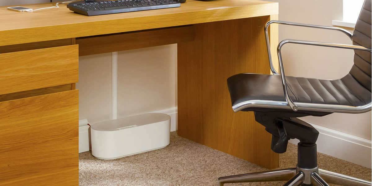 D-Line Cable Tidy Box Big Blanc