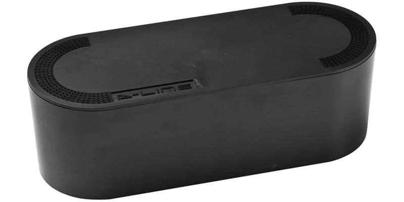 D-Line Cable Tidy Box Mini Noir
