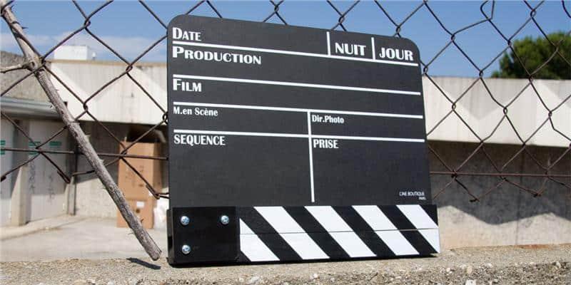 Coti Design Clap de cinéma grand