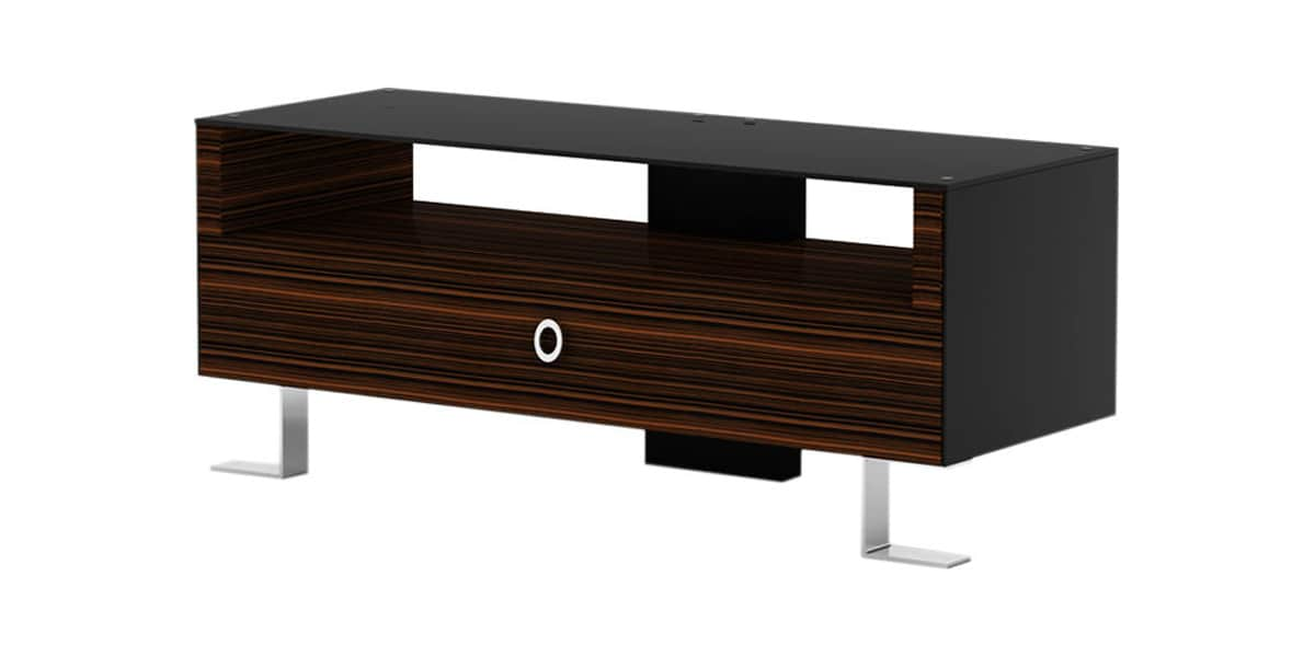 elmob arcadia 120 31 bois fonc meubles tv divers sur easylounge. Black Bedroom Furniture Sets. Home Design Ideas