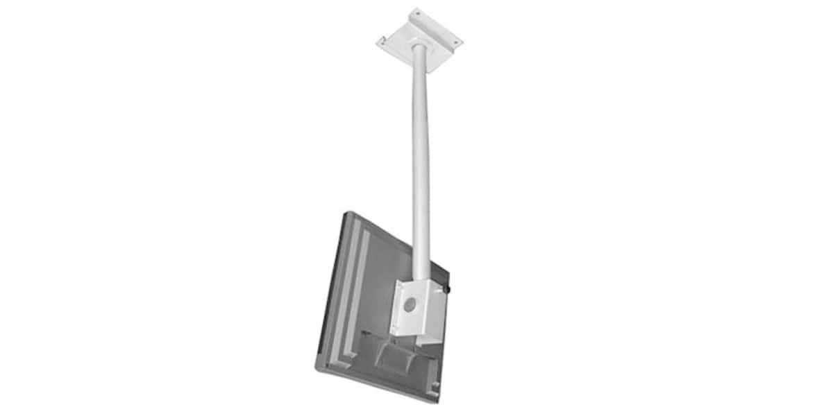 erard pro erard 101459 argent supports tv plafond sur. Black Bedroom Furniture Sets. Home Design Ideas