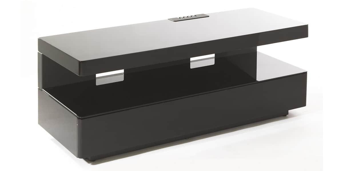 erard ice box noir meubles tv erard sur easylounge. Black Bedroom Furniture Sets. Home Design Ideas