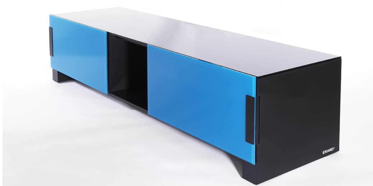 erard bilt 1400 bleu meubles tv erard sur easylounge. Black Bedroom Furniture Sets. Home Design Ideas