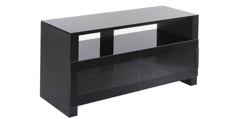 Erard bilt 1100 3 noir meubles tv erard sur easylounge - Meuble tv infrarouge ...