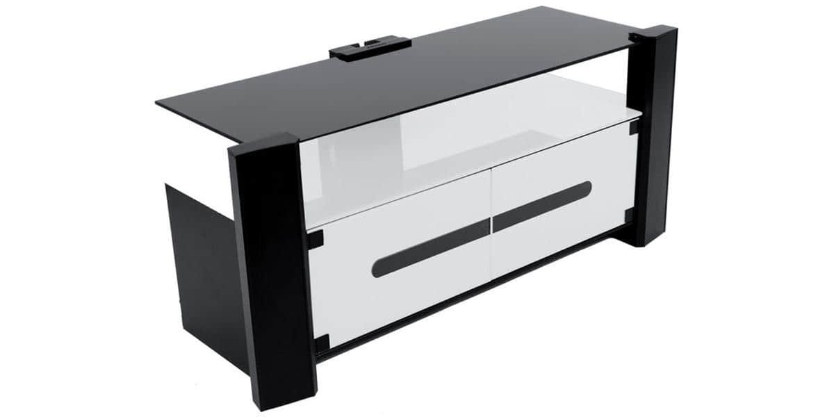 erard archi 036245 blanc meubles tv erard sur easylounge. Black Bedroom Furniture Sets. Home Design Ideas