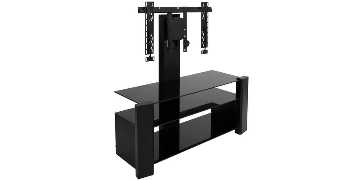 erard archi 036320 noir meubles tv erard sur easylounge. Black Bedroom Furniture Sets. Home Design Ideas