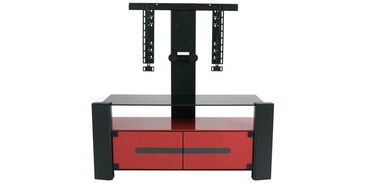 erard archi 036340 rouge meubles tv erard sur easylounge. Black Bedroom Furniture Sets. Home Design Ideas