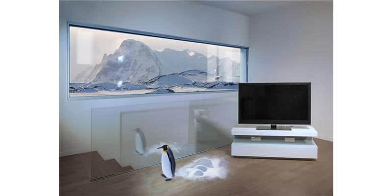 Erard Ice box Blanc Vert  Meubles TV Erard sur EasyLounge -> Meuble Tv Erard Ice Laque Blanc