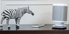 Flexson Desk Stand Lumineux Play:1 Blanc