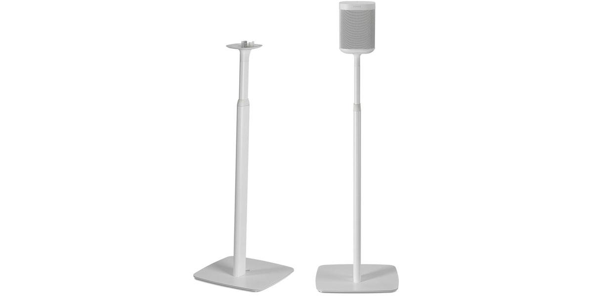 Flexson Floor Stand Ajustable One et Play:1 Blanc