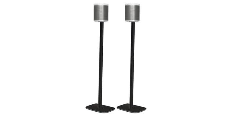 Flexson Floor Stand Play:1 Noir (la paire)